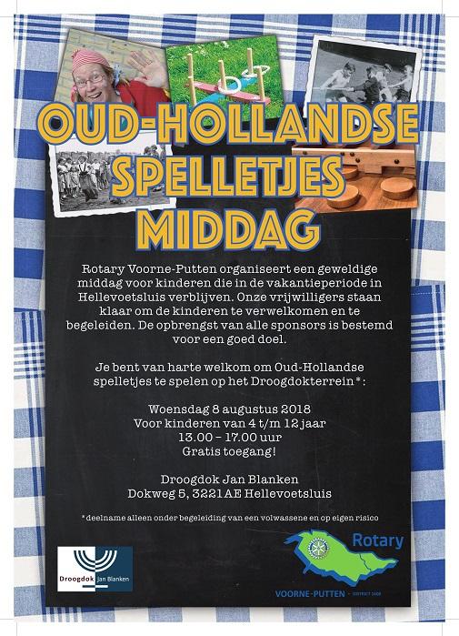 Oud Hollandse spelletjesmiddag