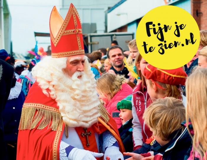 Intocht Sinterklaas in Hellevoetsluis