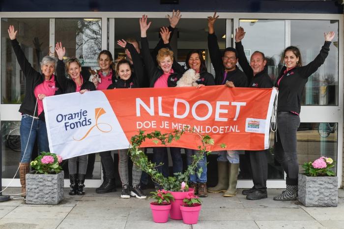 Langs klussen van NL Doet in Brielle, Hellevoetsluis en Westvoorne