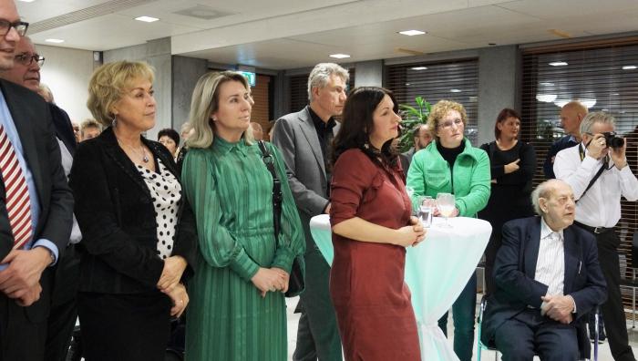 Het was druk en gezellig op de Nieuwjaarsreceptie ( Gemeentehuis Hellevoetsluis )