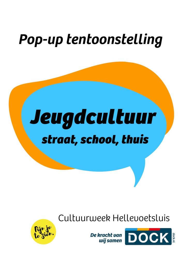 Pop-up Tentoonstelling Jeugdcultuur za. 23 maart 13:00u
