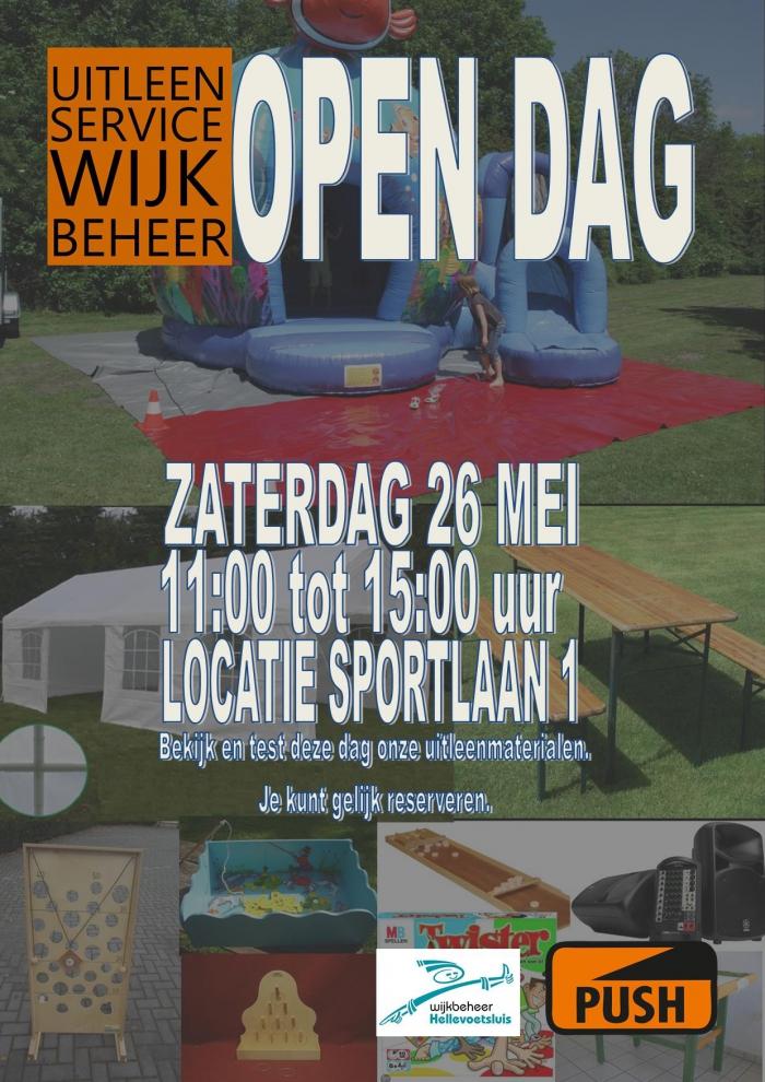 Open Dag Uitleenservice